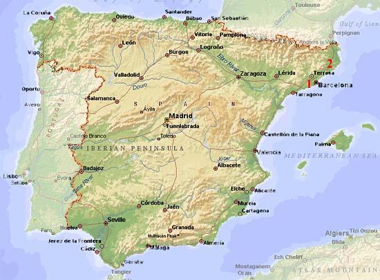 Spanelsko Mapa Na Vlasta Org